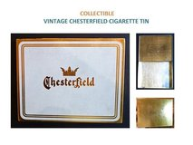 Antique Chesterfield Cigarette Tins in Plainfield, Illinois