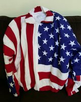 Womens Flag Jacket in Houston, Texas