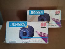 """NEW JENSEN 4"""" DUAL CONE SPEAKERS. 60 watts $15 a pair in Chicago, Illinois"""