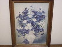 Marion Rice Blue Flower Print in Clarksville, Tennessee