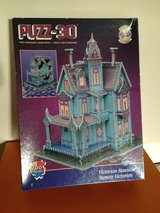 3-D Jigsaw Puzzle - Victorian House in San Diego, California