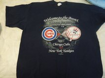 Collectors Chicago Cubs tee shirt Yankee Stadium- June 2005 size 2X- ticket stub in Naperville, Illinois