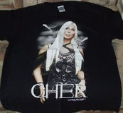 Collectors Cher Living Proof Farewell Tour 2002 double-sided tee & ticket stub in Westmont, Illinois