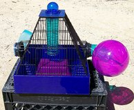 Hamster Plastic & Wire cage with Acc. in Yucca Valley, California