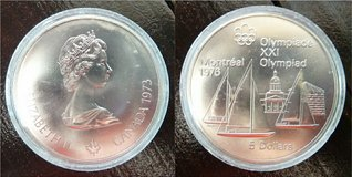 1973 Canadian Silver Olympics Coins (4 Coins) in Ramstein, Germany