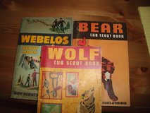 CUB SCOUT WOLF-BEAR-WEBELES BOOKS in Perry, Georgia