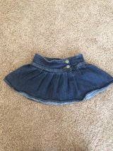 Jean skirt in Sandwich, Illinois