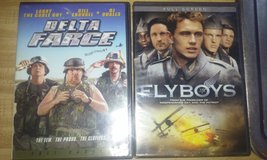 Delta farce and fly boys dvd in Camp Lejeune, North Carolina