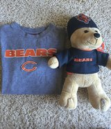 Boy's Bears TShirt w/Stuffed Animal-Medium 10-12 in Batavia, Illinois