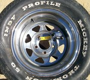 N50-15 Chrome Five Lug Wide Rim in Yucca Valley, California
