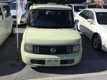 2004 Nissan Cube - 77,xxx KMs - Yellow - Clean - We Have Several Colors Available! Compare & $ave! in Okinawa, Japan