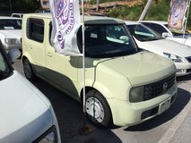 2004 Nissan Cube - 77,xxx KMs - Yellow - We Have Several Available! Compare & $ave! in Okinawa, Japan
