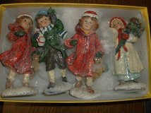 Holiday figurines in Alamogordo, New Mexico