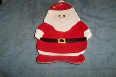 Glass Santa Candy Dish in Conroe, Texas