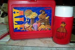 Alf Plastic lunch box with Thermos in Conroe, Texas