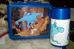 Aladdin Plastic lunch box with Thermos in Conroe, Texas