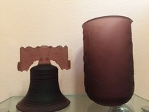 Purple Votive and Bell in Lockport, Illinois