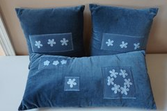Decorative Pillows, Blue in Chicago, Illinois