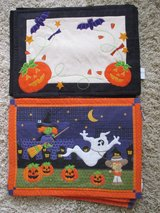 Halloween Placemats, 2 sets for sale, Clean and Nice!! in Lockport, Illinois