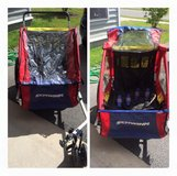 double seater bike trailer/jogger in Fort Drum, New York