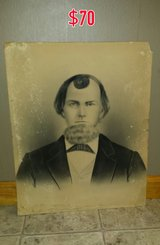 Antique charcoal portrait in Warner Robins, Georgia