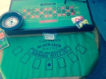 New in box!! Craps/blk jack/roulette/baccarat table in Watertown, New York