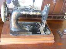 Antique  black New Home sewing machine in Alamogordo, New Mexico