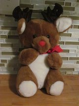 Christmas Dakin Stuffed Reindeer in Naperville, Illinois