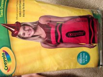 Red crayon costume girls 12 but fits women's 2 in Sugar Grove, Illinois
