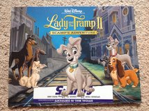 Lady and the Tramp Lithographs Set in Camp Lejeune, North Carolina