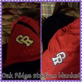 Oak Ridge Stadium Blanket - REDUCED in Conroe, Texas