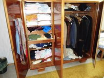 Wardrobe cherry wood in Ramstein, Germany