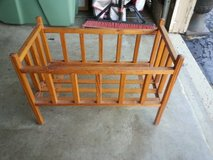 Baby doll crib in Batavia, Illinois