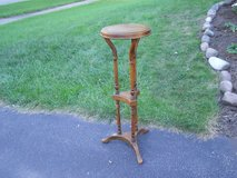 Wood Plant Stand in New Lenox, Illinois
