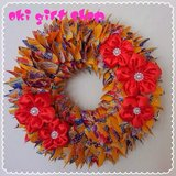 Great Gift! Okinawan style Kimono wreath (yellow) in Okinawa, Japan