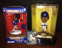 Lot of 3 Sammy Sosa—2000 Limited Edition Headliners XL; 1998 Figure 66 Home Runs in Chicago, Illinois
