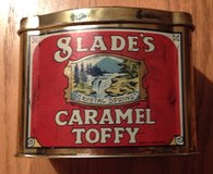 Vintage Tin Slades Caramel Toffy Toffee England in Chicago, Illinois