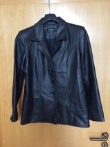 Jacket faux leather S-M in Ramstein, Germany