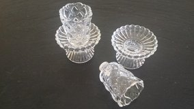 Quilted Crystal candleholders - Partylite in Batavia, Illinois