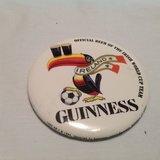 Vintage 1994 Guinness Ireland Beer Button Pin Official Beer Irish World Cup Team in Kingwood, Texas