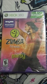 NEW Zumba fitness join the party  XBOX 360 in Fort Irwin, California
