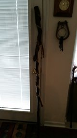 Twisted handmade walking staff in Camp Lejeune, North Carolina