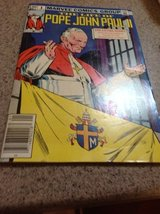 Pope John Paul II comic book, 1983 edition in Alamogordo, New Mexico