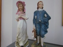 Blue Boy & Pinkie Lefton Figurines in Lockport, Illinois