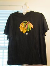 Blackhawks Men's Black T-Shirt XL in Lockport, Illinois