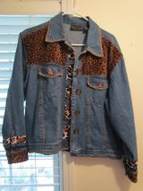 Women's Blue Jean Jacket Large in Joliet, Illinois