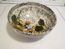 Ceramic Large Flowered Bowl in Orland Park, Illinois