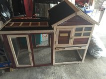 Advantek The Stilt House Rabbit Hutch in Houston, Texas