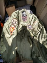 O.D. green Harley bomber jacket in Alamogordo, New Mexico