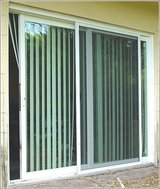 "Sliding glass door (FREE ITEM INCLUDED)- Patio Door with Screen and Metal Frame ""Reduced price"" in Barstow, California"